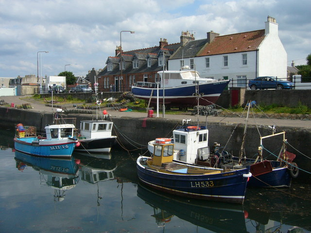 Boats at Port Seton Harbour