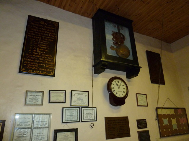 Inside St Peter's bell tower (a)