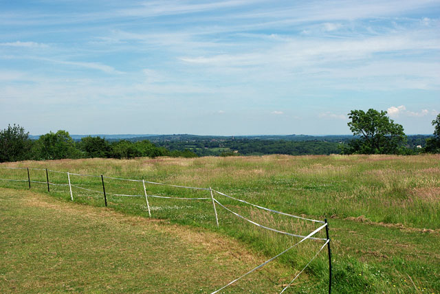 View towards East Grinstead from near Selsfield Common
