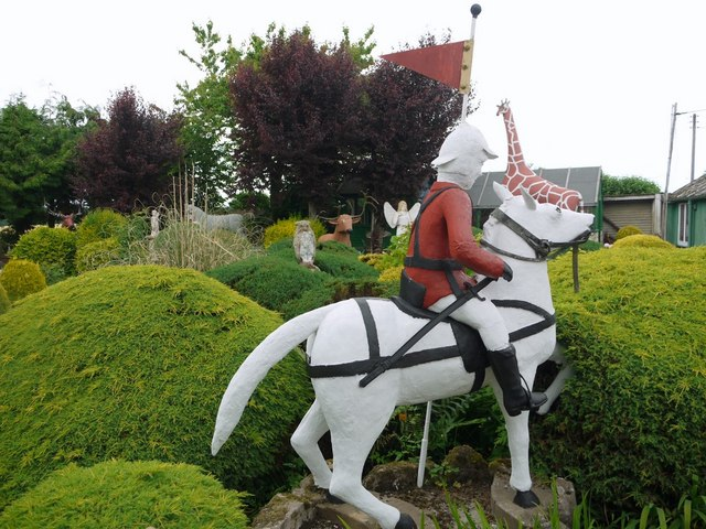 Mounted Soldier, The Cement Menagerie, Branxton
