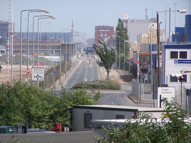 Southampton Docks: West Bay Road
