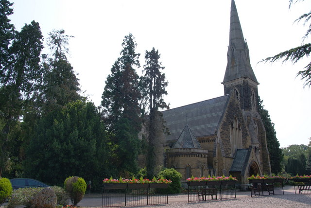 The chapel at New Southgate Cemetery