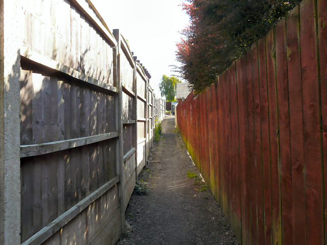 Footpath to Foxholes