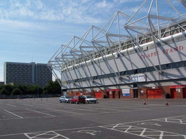 Chapel Stand, St Mary's Stadium