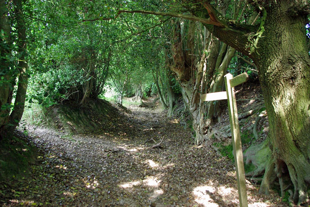 Footpath diversion from ancient way