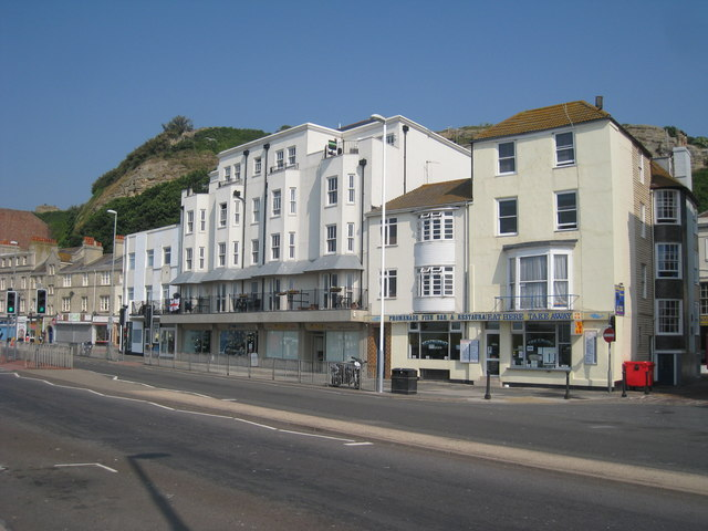Shops on Marine Parade