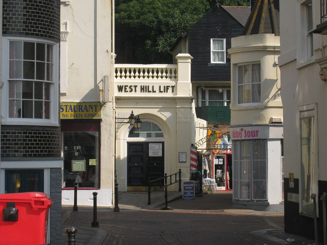 West Hill Lift Entrance