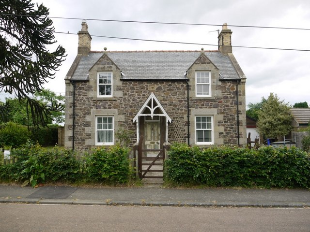 House, Branxton village