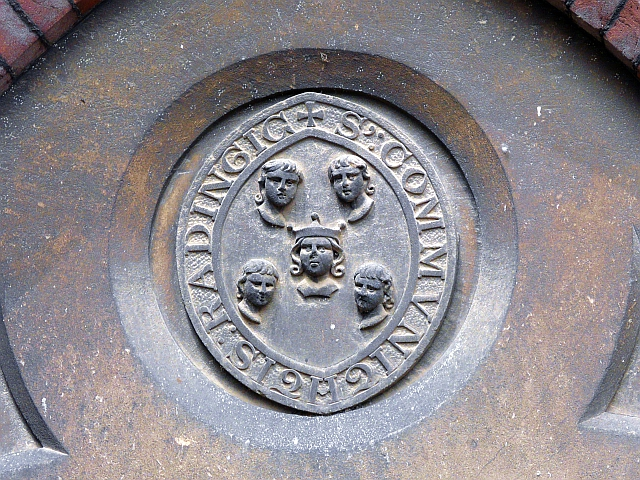 Carving of Reading's historic seal
