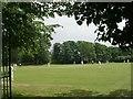 SE1233 : Cricket Field - Greenbank Road by Betty Longbottom