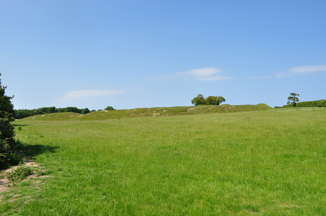 South eastern view of Warham Fort