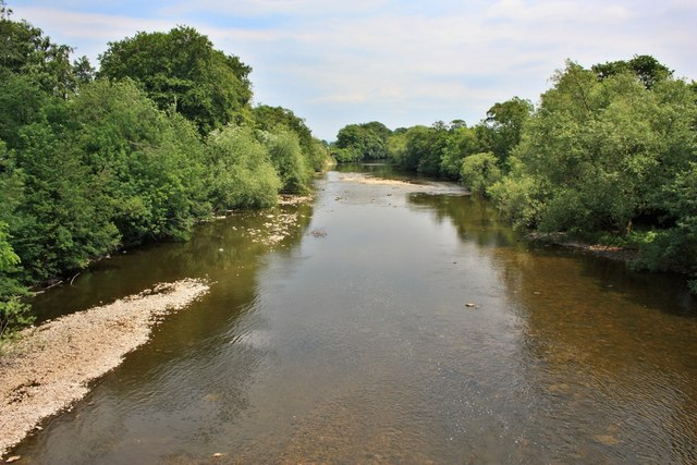 River Ure, West Tanfield