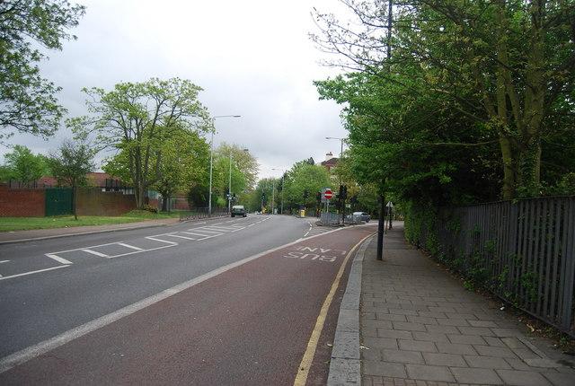 Bus Lane, Westwood (A212)