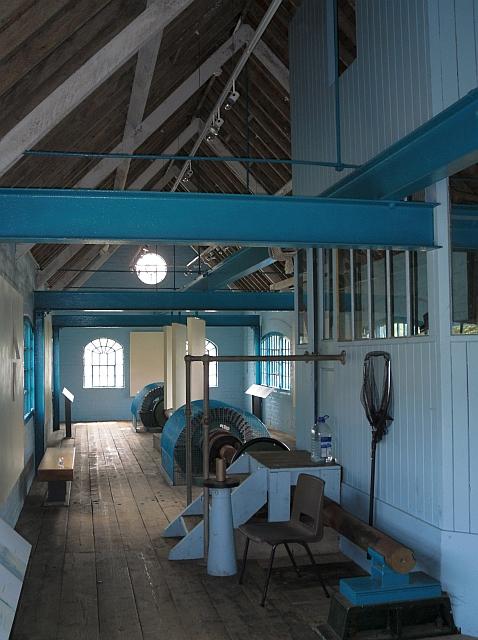 Inside the Turbine House, Blakes Lock