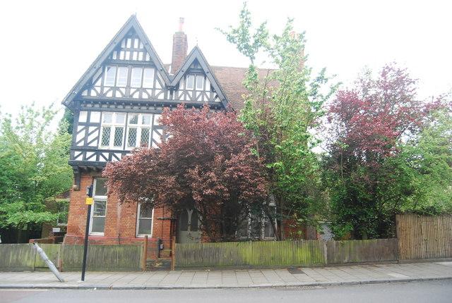 Half timbered building, Crystal Palace Park