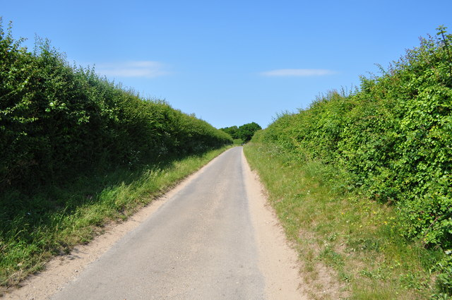Road to Warham