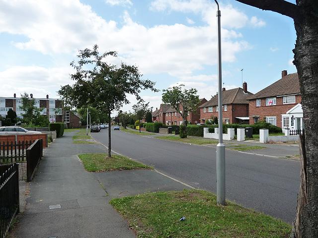 Homestead Way, New Addington