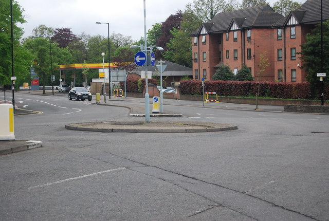 Roundabout, Crystal Palace Parade & Fountain Drive