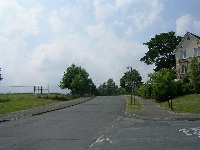 Grange Road - viewed from Ley Top Lane