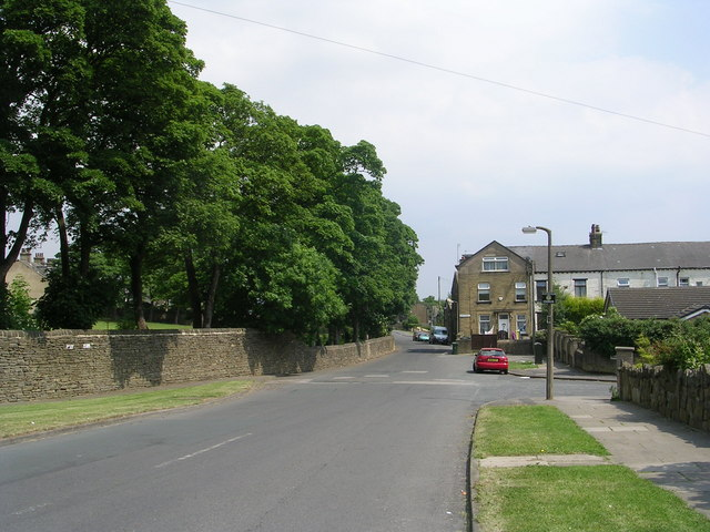 Grange Road - viewed from Ley Top Lane