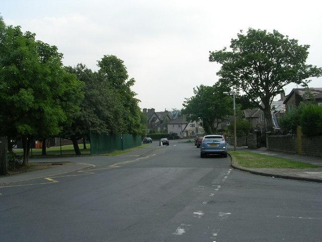 Oaks Lane - viewed from Grange Road