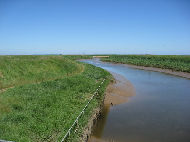 Tetney Marsh NR from Tetney Outlet Sluice