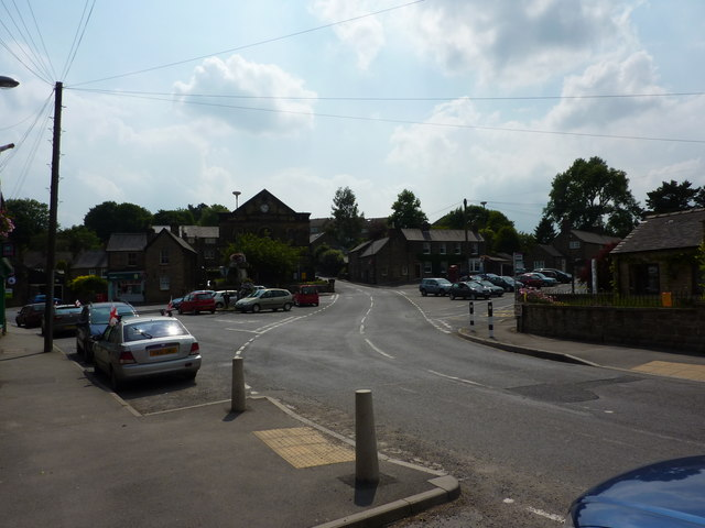 Downtown Crich