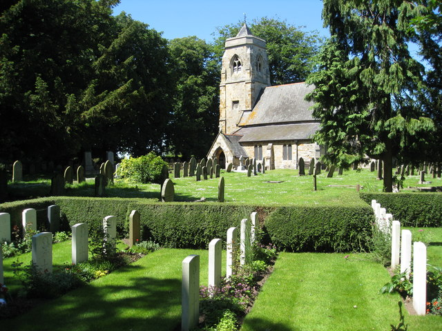 North Cotes Church and War Graves