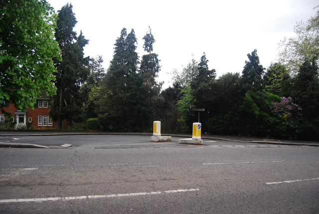 Junction of College Rd and Fountain Drive