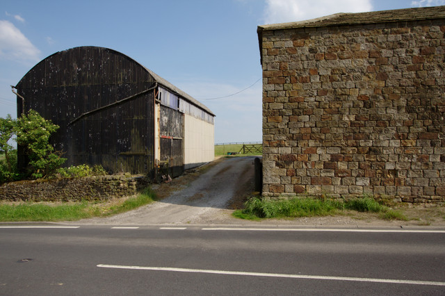 Entrance to Briscoerigg Farm