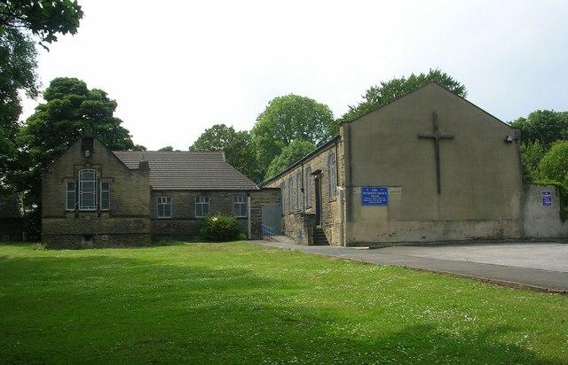 Allerton Methodist Church - viewed from Chapel Lane
