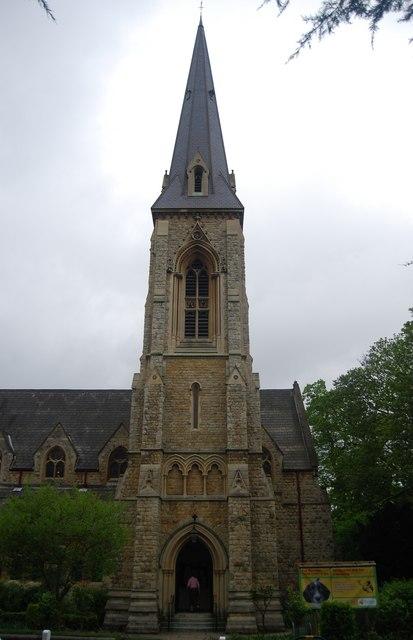 St Stephen's spire, College Rd