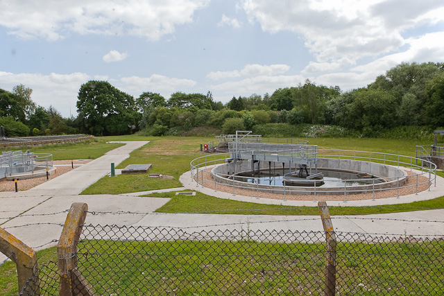 Southwestern part of Sewage Treatment Works, Ringwood