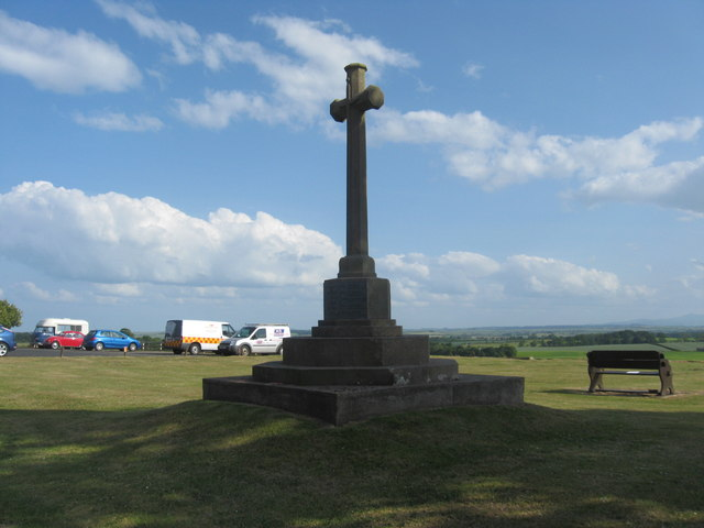 War Memorial at Foulden, Berwickshire