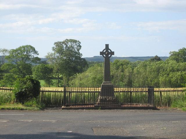 War Memorial near Edrom