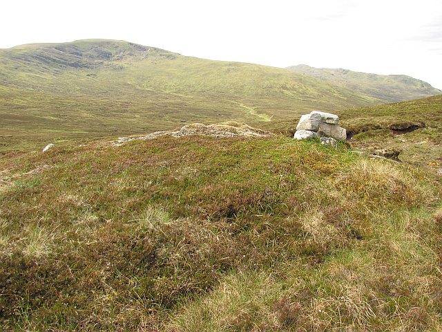 Cairn above Coire Luibhean