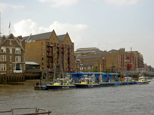 Wapping river police station