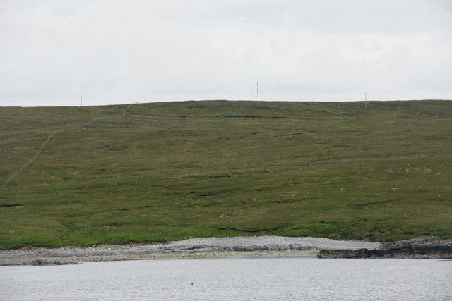 Coastline near North Sandwick