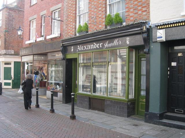 Alexander Jewllery, George Street