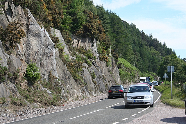 A82 by Loch Ness