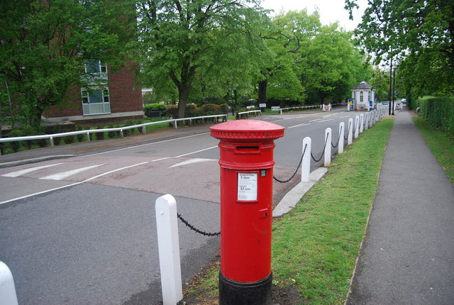 Postbox, College Rd