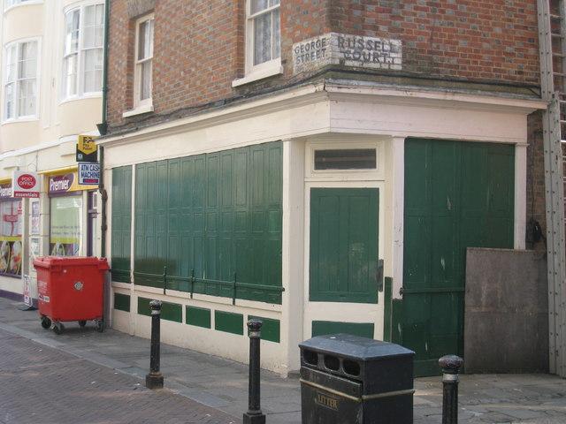 Shuttered Shop on George Street