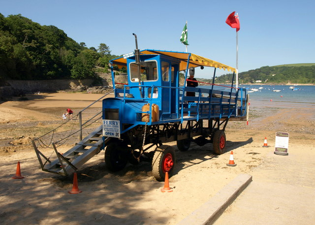 South Sands Ferry Sea Tractor