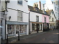 TQ8209 : Shops on George Street by Oast House Archive