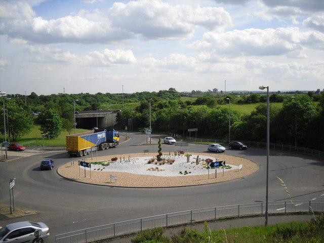 Roundabout, Coatbridge