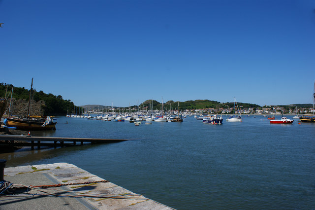 The Conwy Estuary