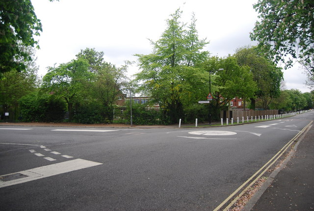 Junction of Hunters Slip Rd and College Rd