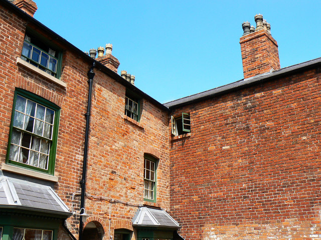 Back yard, Court 15, Inge Street, Birmingham (2)