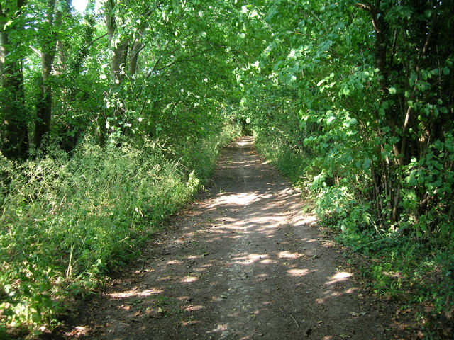 The Fosseway west of Fosse Farm