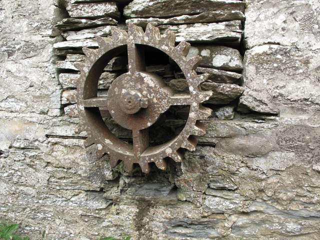 Water Wheel Gear at Bleachfield Farm